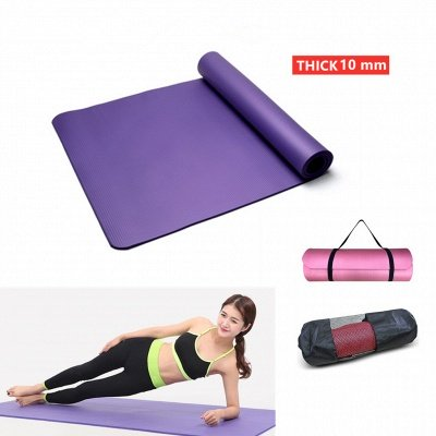 Extra Thick High Density Anti-Tear Exercise Yoga Mat_1