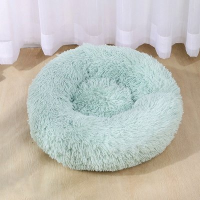 Ultra Soft Washable Dog and Cat Cushion Bed | Comfortable Round  Cuddler Dog Bed_12