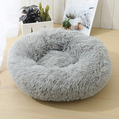 Ultra Soft Washable Dog and Cat Cushion Bed | Comfortable Round  Cuddler Dog Bed_41