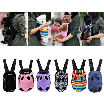 Pet Carrier Backpack Adjustable Pet Front Cat Dog Carrier_7