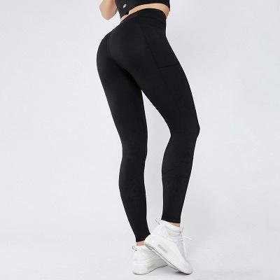 Women Girls High Waist Sports Gym Wear Leggings Yoga Pants | Elastic Fitness Overall Full Tights Workout_2