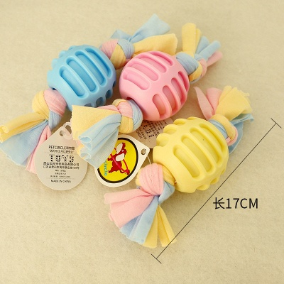 New Pet Cotton Rope Molar And Clean Teeth Toy Dog Plush Teeth Toys