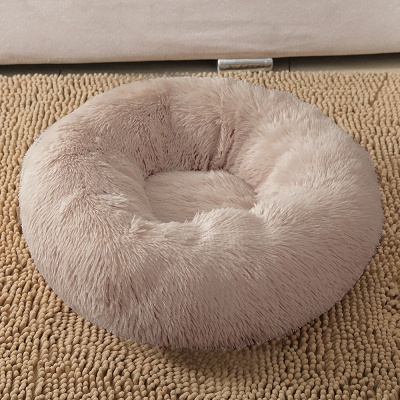 Ultra Soft Washable Dog and Cat Cushion Bed | Comfortable Round  Cuddler Dog Bed_34