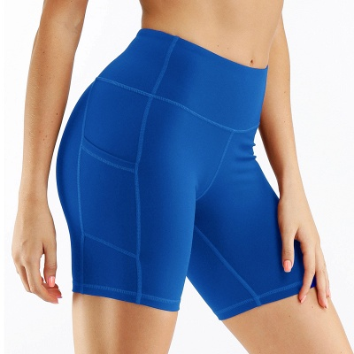 Spring/Summer Ladies Yoga shorts High-waisted Sports Gym Wear Leggings Elastic Fitness running Sport Hot Pants_6