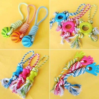 Puppy Pet  Plush Chews Toys