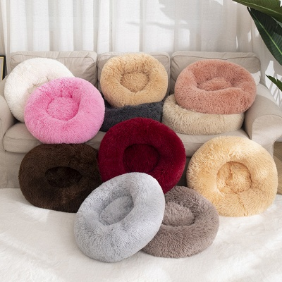 Ultra Soft Washable Dog and Cat Cushion Bed | Comfortable Round  Cuddler Dog Bed_66