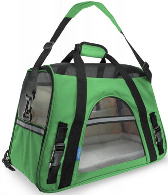 Pet Carrier Soft Sided Puppy Kitten Cat Dog Tote Bag Travel Airline Approved_11
