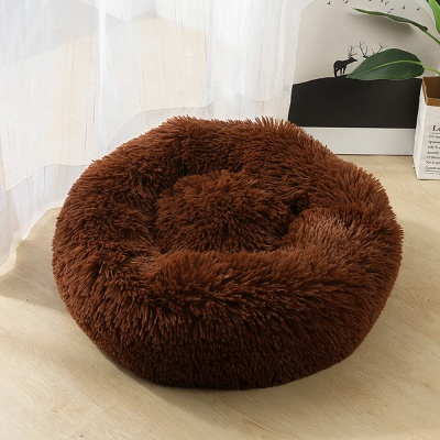 Ultra Soft Washable Dog and Cat Cushion Bed | Comfortable Round  Cuddler Dog Bed_20