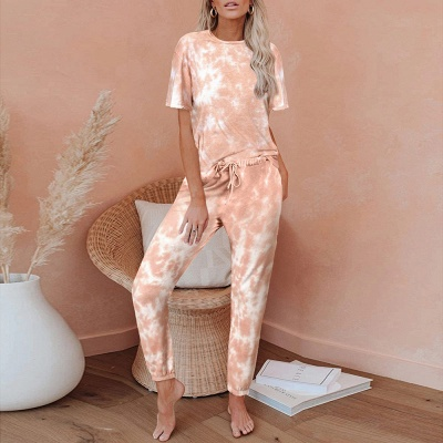 Stylish Tie-dyed Loungewear Track Suit for Sports_1