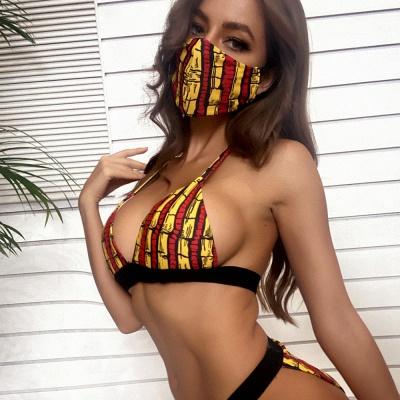 Beachwear With A Matching Face Mask 2021 Sexy Bikinis_5