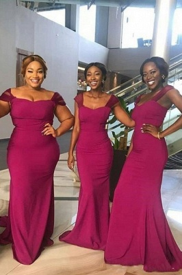 Off The Shoulder Sheath Bridesmaid Dresses | Sweetheart Prom Dresses_2