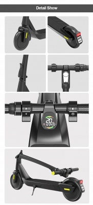Seat Foldable Hoverboard Fat Tire Electric Scooter_9