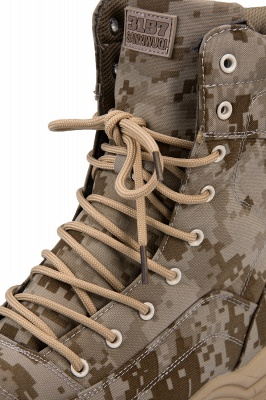 Military Lace Up Combat Boots Waterproof Ankle Bootie On Sale_4
