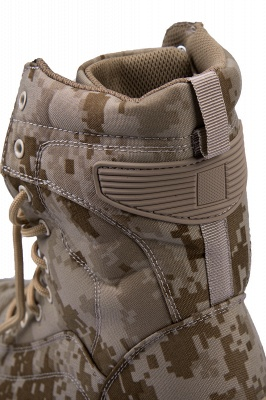 Military Lace Up Combat Boots Waterproof Ankle Bootie On Sale_8
