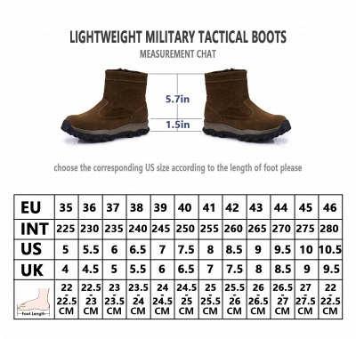Winter Comfortable Outdoor Anti-Slip Suede Cotton Fur Lined Ankle Boots On Sale_12