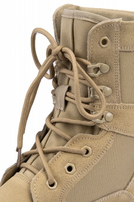 Outdoor Combat Ankle Boots Water Resistant Lightweight Mid Hiking Boots On Sale_12