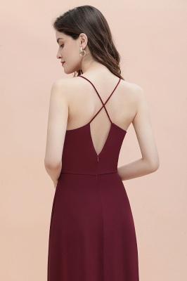 Straps Bateau A-line Sequins Evening Maxi Dress Elegant Chiffon Prom Dress_10