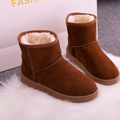 Warm Plush Snow Boots Snowy Women Winter Boots