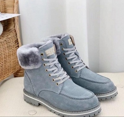 New Women Snow Boots   Waterproof Ankle Shoes_7