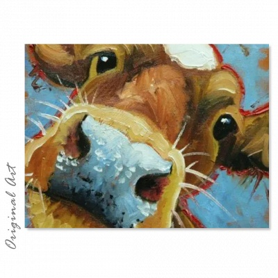 Right cow - Tech-Crafty Paint By Numbers_2
