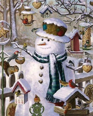 Paint By Numbers Kit-Merry Christmas_2
