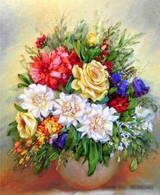 Garden Roses – Flowers Paint By Number_2