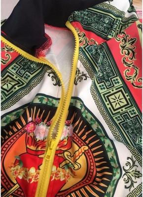 Printed Long Sleeve Zipper Streetwear Coat Bomber Jacket_7