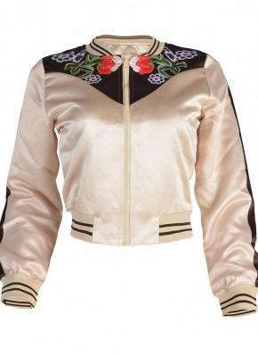 Fashion Women Floral Print Down Jacket_5