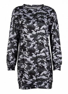 Women Camo Hoodie Pullovers Casual Long Sleeves Sweatershirt_4