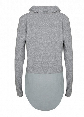 Women Warm Casual Drawstring Sweatshirt_6