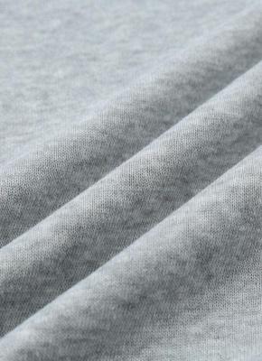 Fashion Side Zipper Hooded Neck Drawstring Long Sleeves Women's Hoodies_9