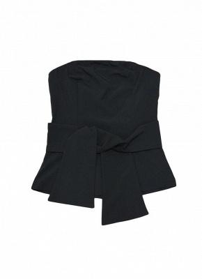 Women Strapless Top Bralette Camisole Tank Solid Elegant Party Clubwear_10