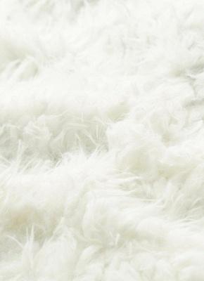 Winter Women Fluffy Faux Fur Coat Soft Lining Warm Solid Elegant Midi Outerwear Overcoat_8