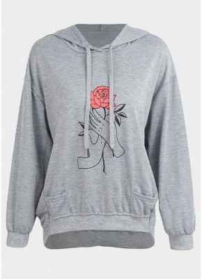 New Fashion Women Hoodie Pullover Hooded overl Loose Sweatshirts_1