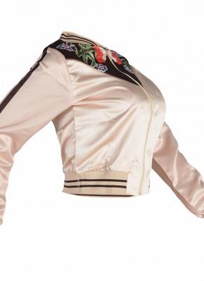 Fashion Women Floral Print Down Jacket_4