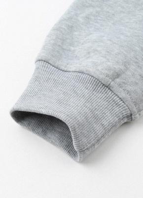 Fashion Side Zipper Hooded Neck Drawstring Long Sleeves Women's Hoodies_7