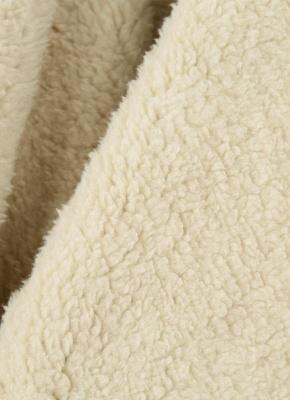 Suede Faux Fur Lapel Fleece Long Waistcoat_8