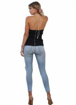 Women Strapless Top Bralette Camisole Tank Solid Elegant Party Clubwear_6