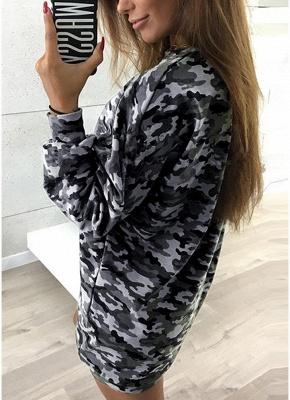 Women Camo Hoodie Pullovers Casual Long Sleeves Sweatershirt_3