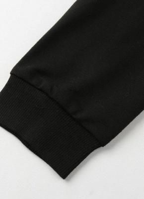 Fashion Women Floral Print Jacket Coat Zipper Long Sleeve Pocket Bomber Jacket_7