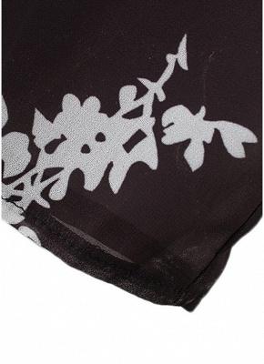 Women Floral Print Cardigan Open Front Maxi Coat Summer Boho Long Wear_10