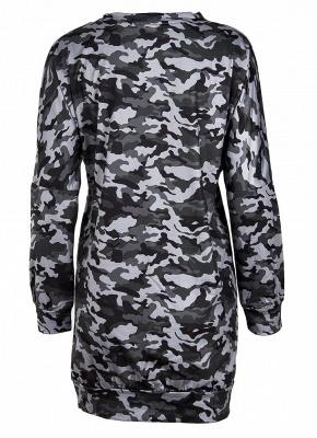 Women Camo Hoodie Pullovers Casual Long Sleeves Sweatershirt_5