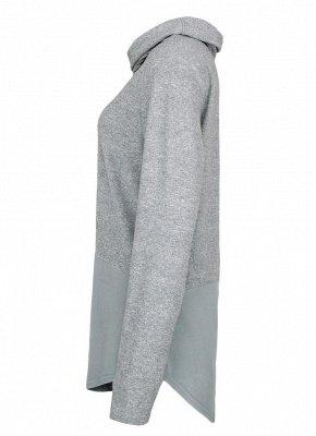 Women Warm Casual Drawstring Sweatshirt_7