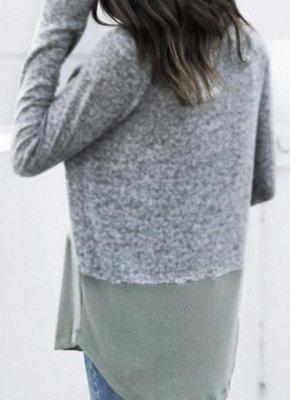 Women Warm Casual Drawstring Sweatshirt_3