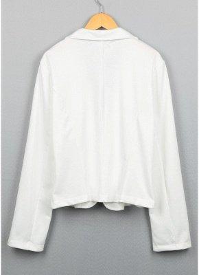 Women One Button Business Blazer Suit Long Sleeves Office Casual Leisure Coat Jacket Ladies Short Outwear_6