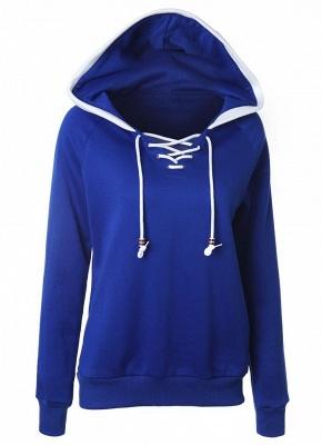 Fashion Fleece  Long Sleeves  Women's Hoodie_3