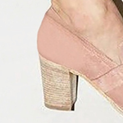 Casual Suede Chunky Heel Slip-On Boots_17
