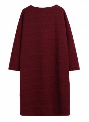 Winter Women V-Neck Long Coat Pockets Warm Jacket Cardigan Outerwear Overcoat_5
