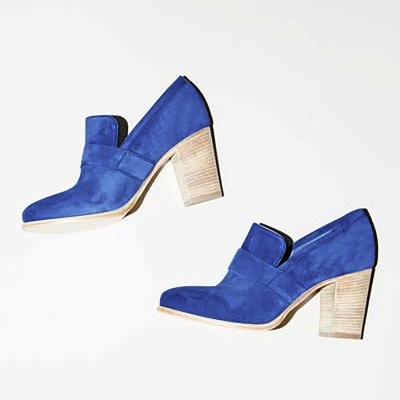 Casual Suede Chunky Heel Slip-On Boots_15