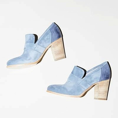 Casual Suede Chunky Heel Slip-On Boots_11